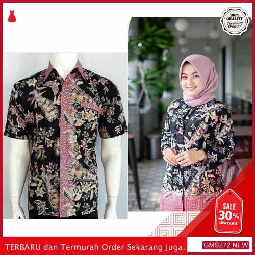 Gms272 Mnrfx272b65 Baju Batik Couple Modern Monalisa Dropship