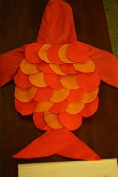 DIY Toddler Fish Costume