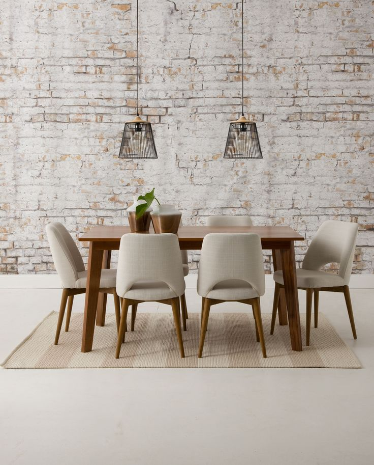 Carson dining table and Jarvis dining chair