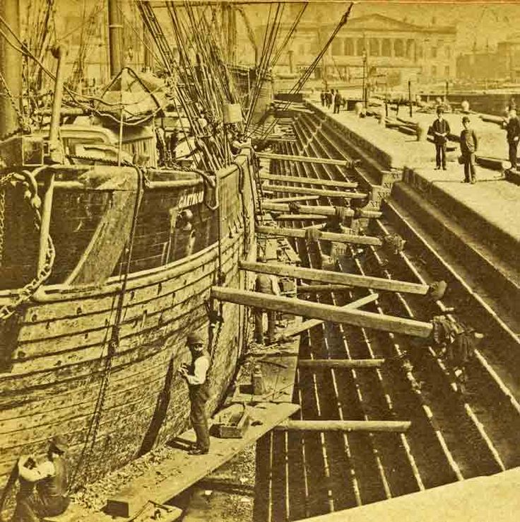 Streets of Liverpool The great dry dock 1890