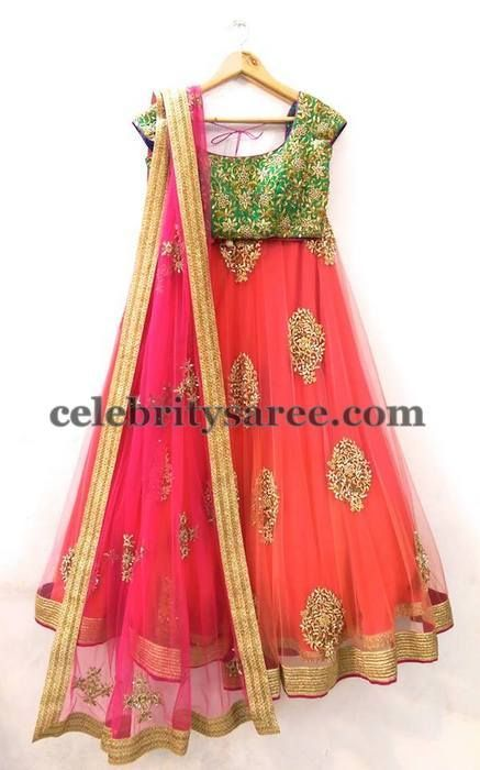 Mrunalini Rao Incredible Lehenga   Saree Blouse Patterns: