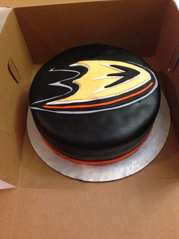 Anaheim Ducks Cake