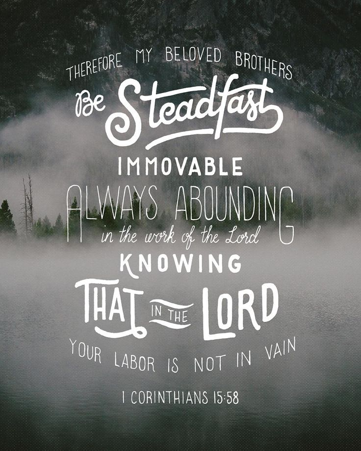 Green 1 Corinthians 15:58
