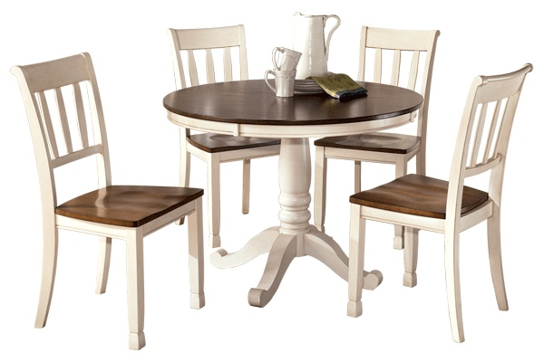 Whitesbury Dining Set (White) by: Ashley