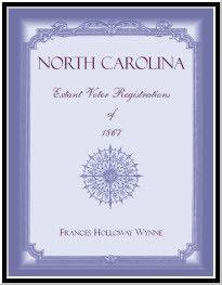 North Carolina Extant Voter Registrations of 1867