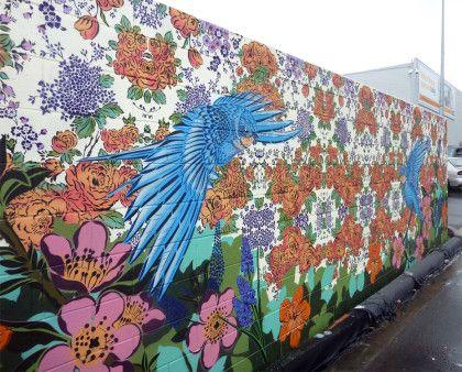 GRAFFIATO   Day Two of the street art festival Graffiato in Taupo   Flox.co.nz