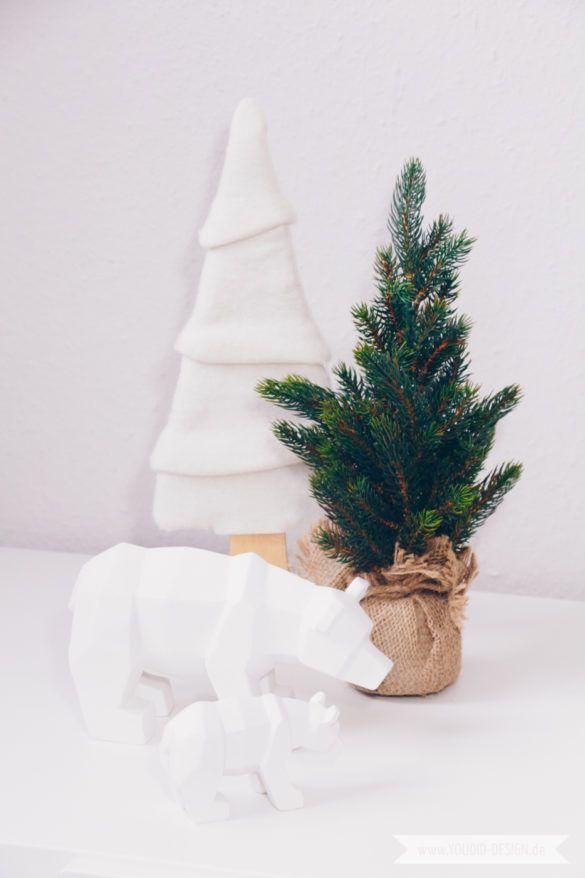 Minimalistische skandinavische Weihnachtsdeko - Linksammlung - Youdid Design Minimalism nordic scandinavian christmasdecor