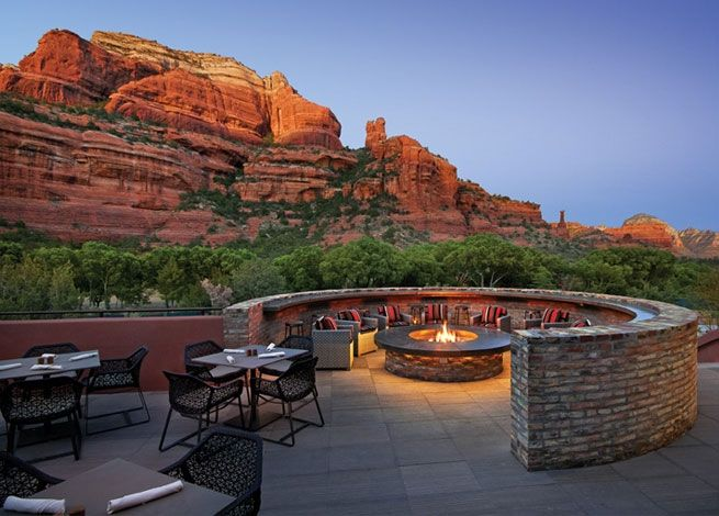 Enchantment Resort in Sedona is one of the most beautiful, relaxing places on earth.  Breathtaking views of the red rocks.