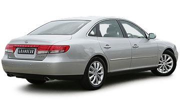 Previous Hyundai Grandeur sedan range