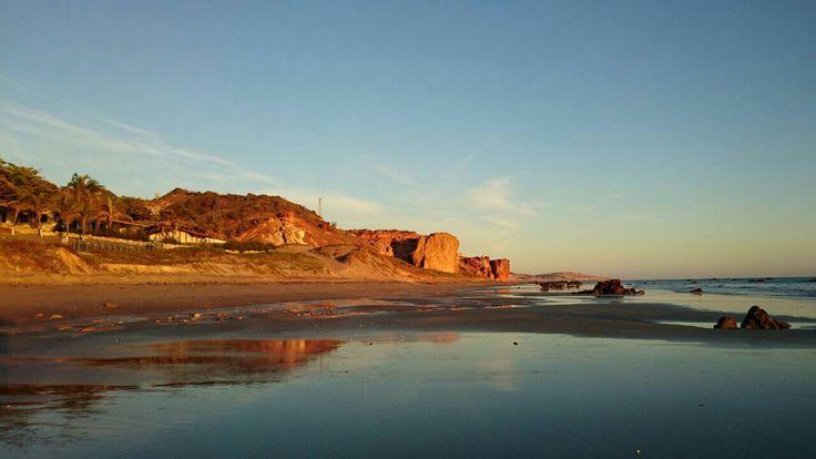Praia Redonda, Ceará Icapui, Brazil