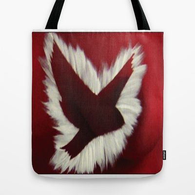 ThePeaceBombs - RedLight Tote Bag by ThePeaceBomb - $22.00 #thepeacebomb #totebage #madeintheusa #love #words #peace #animal #redlight