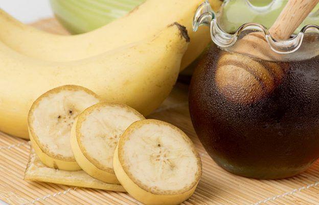 Banana-Face-Pack-For-Skin-Straffung #KoreanSkincareBeforeAndAfter