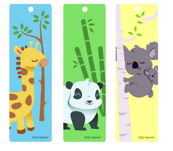Super Cute Animal Bookmarks
