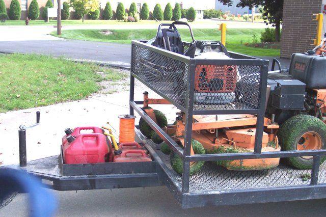 On Site Welding Cleveland M M Certifield Welding Company Landscape Trailers Custom Trucks Lawn Trailer