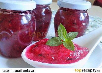 Džem z angreštu, červeného a černého rybízu recept - TopRecepty.cz