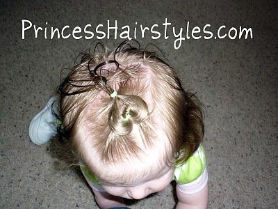 I think my baby girl has enough hair for this now.This is THE site for little girl's hairstyles.