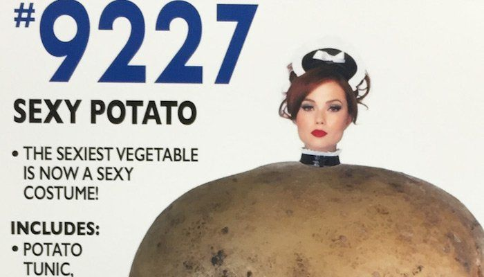 'An Actual Duck' And 'Sexy Potato': Man Replaces Signs In Costume Store With Hilarious Results