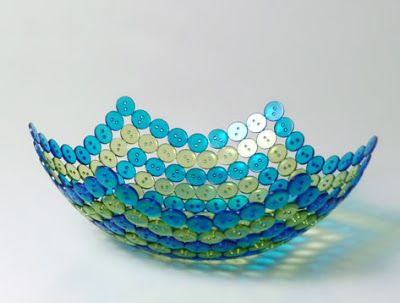 Bonkers About Buttons: Knoop Button Bowl