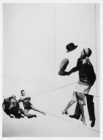 Moholy-Nagy. Usava técnicas da época: tipografia (sem serifa), fotografia e…