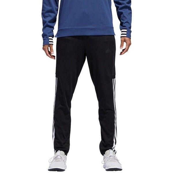 Men's Adidas Cotton Pants (130 BRL) ❤ liked on Polyvore featuring men's fashion, men's clothing, men's pants, men's casual pants, black, mens stretch waist pants, men's casual cotton pants, mens ankle zip pants, mens elastic waist pants and mens cotton pants