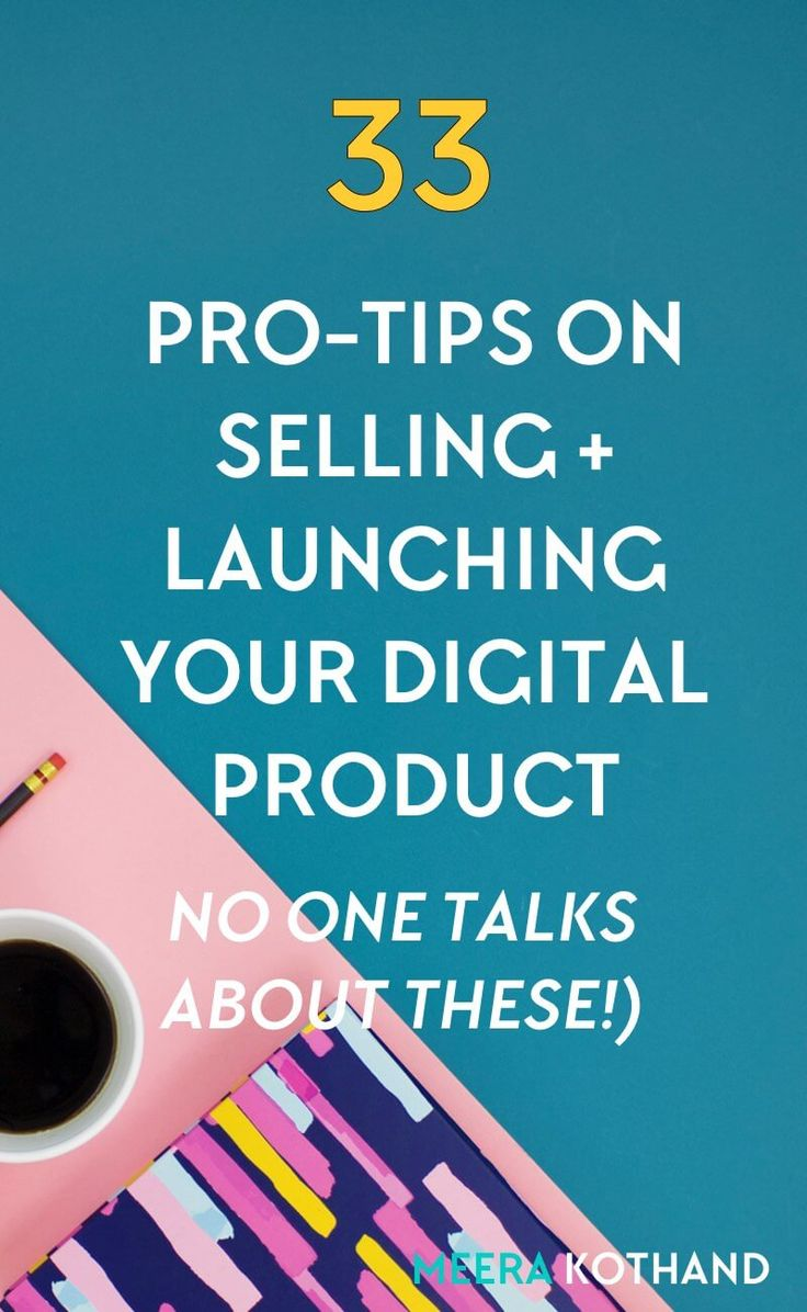 What's the secret behind a digital product that sells? In this post, I'll share 33 pro-tips for launching and creating your own digital product. I wish I'd known some of these from the beginning! via @meerakothand