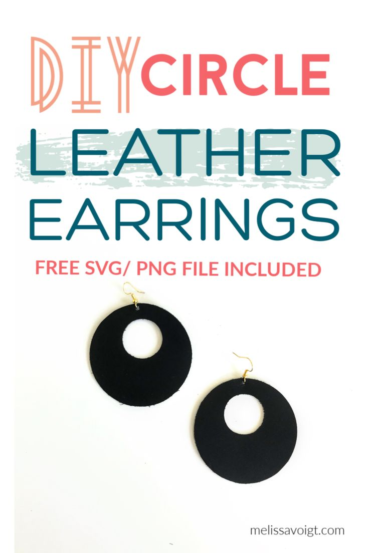 Download Circle Cutout SVG Leather Earring Template — melissa voigt ...