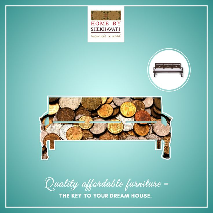 Want a piece of furniture that fits into your criteria of AFFORDABLE FURNITURE ???  Give furniture from Home By Shekhavati a shot. They are well-known for their quality furniture and that too within an affordable price range over a variety of products.  So, enjoy them in your pocket range.  To shop, visit http://bit.ly/HBS_Shop.