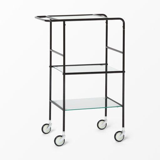 Serveringsvagn i glas och metall - Bord- Köp online på åhlens.se!