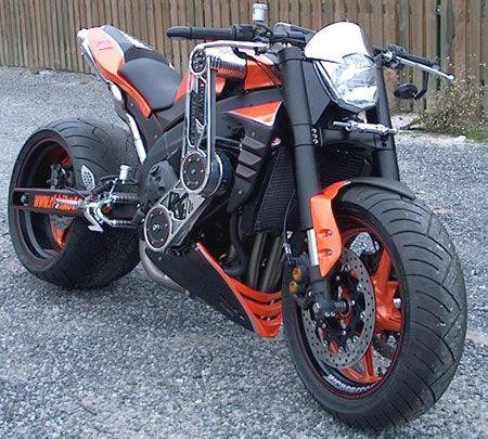 Custom Yamaha R1: brutal! | repinned by www.BlickeDeeler.de | Follow us on www.facebook.com/...