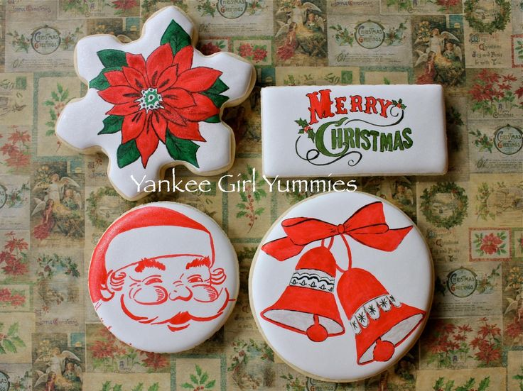 Christmas cookies by Yankee Girl Yummies