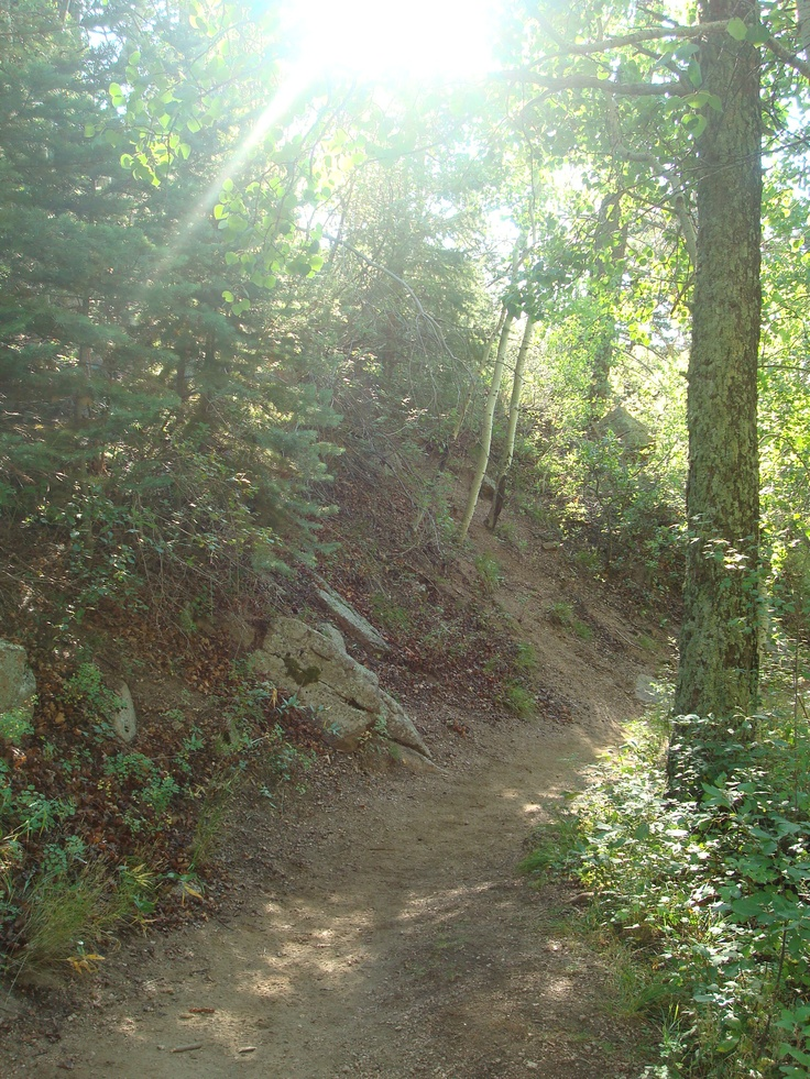 Barr Trail -- Manitou Springs, Colorado