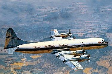 Vh Tla Lockheed 188a Electra Lockheed Electra