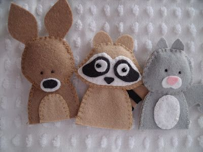 Cute fingerpuppets