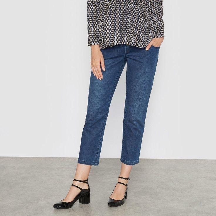 R Essentiel Womens Maternity Boyfriend Jeans