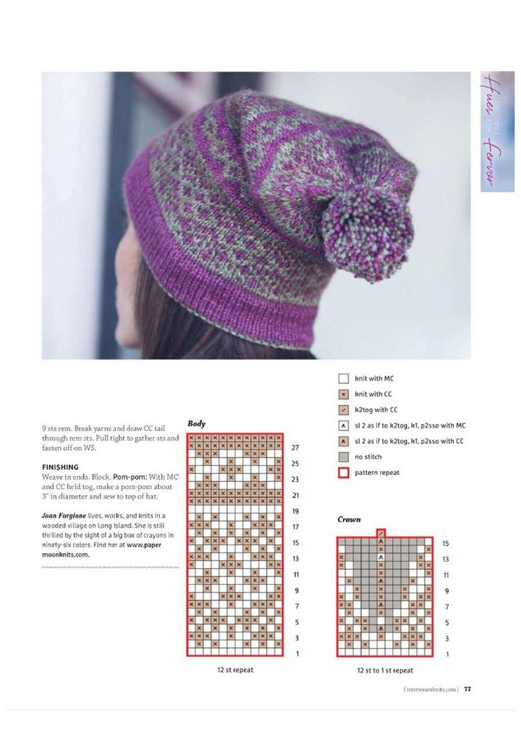 285 best Fair isle & patterns images on Pinterest   Knitting ...