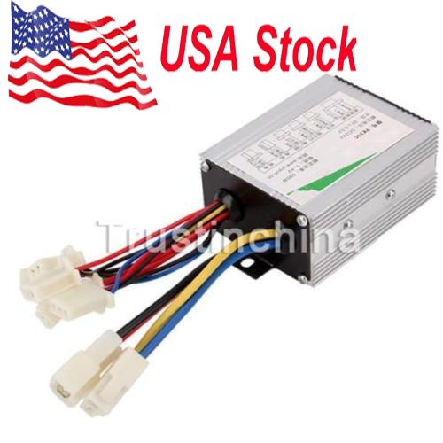 24V-500W-Electric-Bicycle-E-bike-Scooter-Brush-DC-Motor-Speed-Controller
