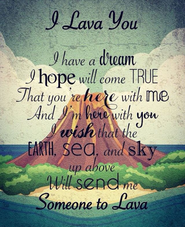 The Lava Song, have you seen this short film? It is on now TV, its so sweet!