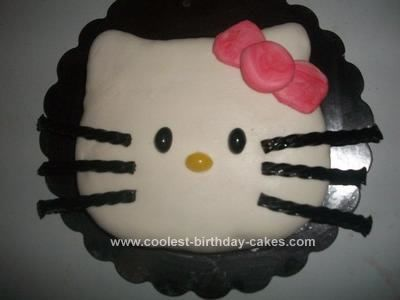De 100 bsta Hello Kitty Cake Ideasbilderna p Pinterest