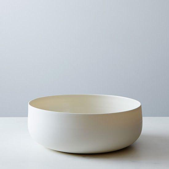 $260 Large Porcelain Serving Bowl // Food52 // x1