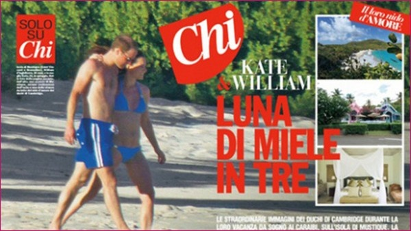 Kate Middleton Baby Bump Bikini Pictures 2013 By Chi Italian Magazine | Beauty Tips