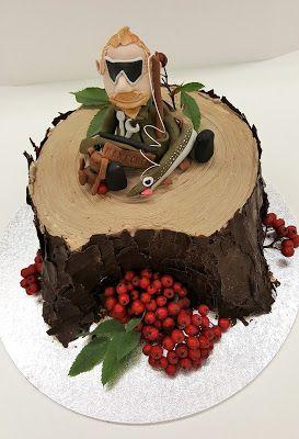 Purppurahelmen juhla- ja  fantasiakakut: Max Power-kakku