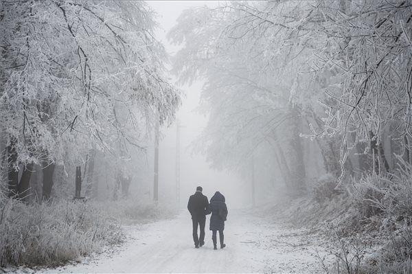A következő napokban is mínusz 20 fokig hűlhet a levegő.