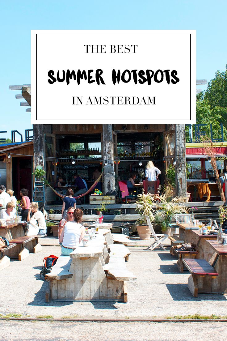 "Where to go during summer in Amsterdam? Find a list on travel blog http://www.yourlittleblackbook.me to see where all the great hotspots, restaurants, bars and other must visit places are. Planning a trip to Amsterdam? Check http://www.yourlittleblackbook.me/ & download ""The Amsterdam City Guide app"" for Android & iOs with over 550 hotspots: https://itunes.apple.com/us/app/amsterdam-cityguide-yourlbb/id1066913884?mt=8 or https://play.google.com/store/apps/details?id=com.app.r3914JB"