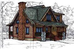 Cottage Style House Plan - 3 Beds 2.5 Baths 1510 Sq/Ft Plan #921-2 Exterior - Front Elevation - Houseplans.com