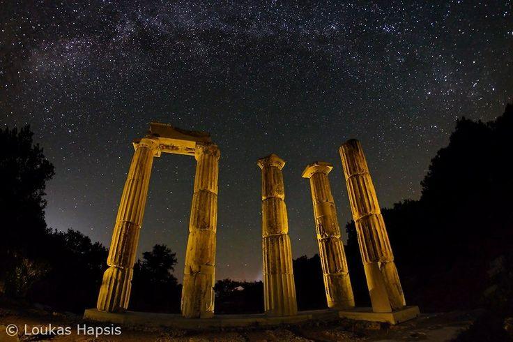 Ancient Greek Temple ruins