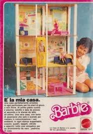 casa di barbie anni 80 - Quanti film e matrimoni di barbie con questa casa!!!