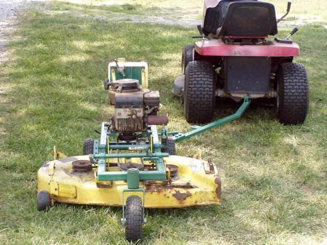Lawn Tractor Dozer Tracks Conversion : Homemade riding lawn mower attachments ftempo