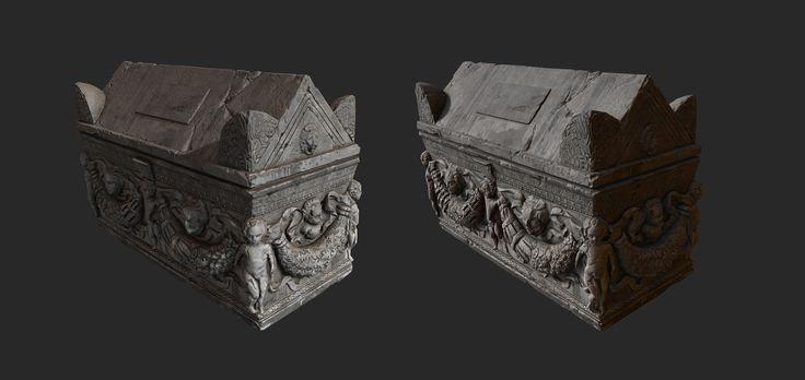 ArtStation - sarcophagus, Denis Rutkovsky