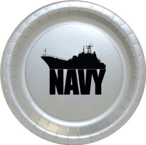 These US NAVY SHIP DINNER PLATE (8/PKG) from http://www.amazon.com/dp/B00JVY11TA/ref=cm_sw_r_pi_awdm_5ux7tb1489J99 would be an idea for decorations for my sons Graduation / US Navy Going Away party.