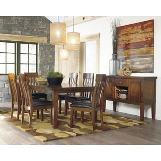 Shop for Signature Design by Ashley Ralene Rectangular Butterfly Extension Dining Table. Get free shipping at Overstock.com - Your Online Furniture Outlet Store! Get 5% in rewards with Club O!